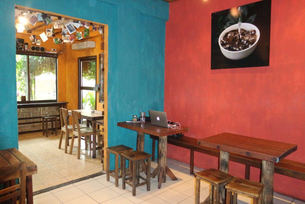 Innenbereich Akha Ama Coffee