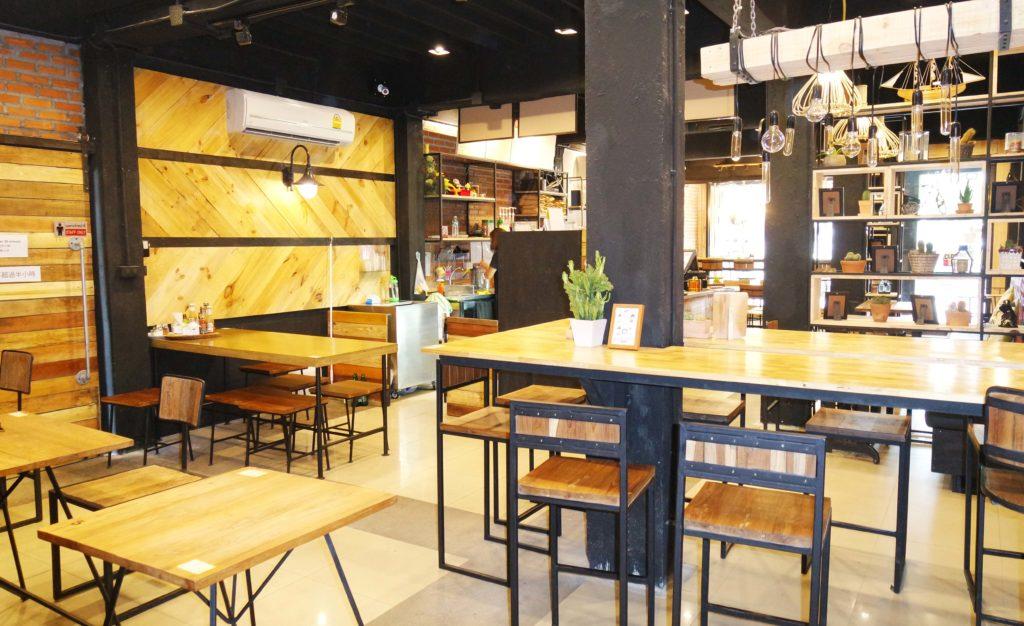 Innenbereich Pangkhon Coffee
